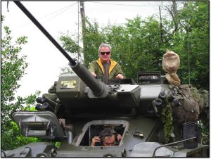 Historic Tours. John in Tank